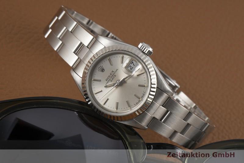 gebrauchte Luxusuhr Rolex Date Stahl / Weissgold Automatik Kal. 2135 Ref. 69190  | 2007219 _0