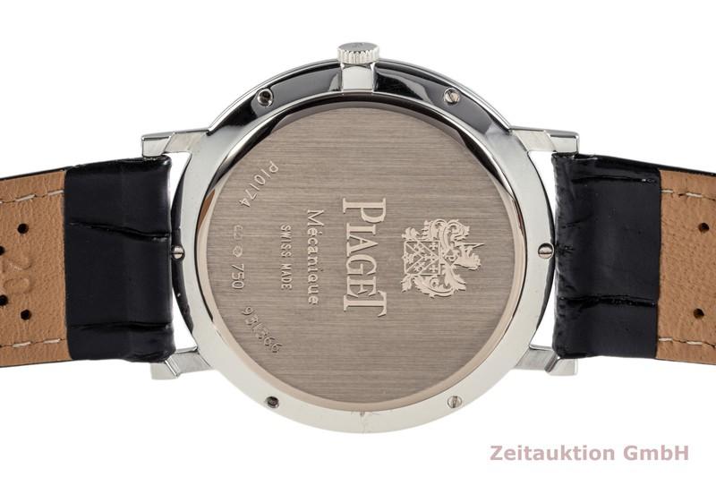 gebrauchte Luxusuhr Piaget Altiplano 18k Weissgold Handaufzug Kal. 430P Ref. P10174    2007222 _1