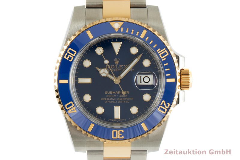 gebrauchte Luxusuhr Rolex Submariner Stahl / Gold Automatik Kal. 3135 Ref. 116613LB  | 2007229 _0