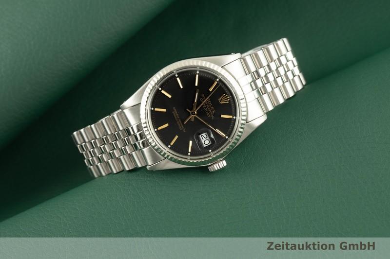 gebrauchte Luxusuhr Rolex Datejust Stahl / Weissgold Automatik Kal. 1560 Ref. 1601 VINTAGE    2007241 _0