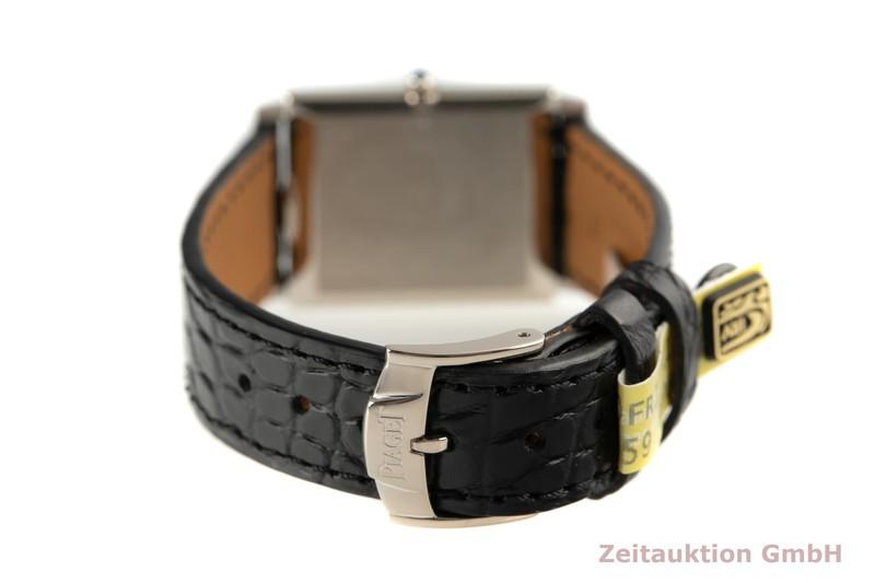 gebrauchte Luxusuhr Piaget Rectangle 18k Weissgold Handaufzug Kal. 9P Ref. 9211  | 2007247 _1