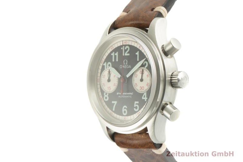 gebrauchte Luxusuhr Omega Dynamic Chronograph Stahl Automatik Kal. 1138 Ref. 175.0311 LIMITED EDITION | 2007248 _0