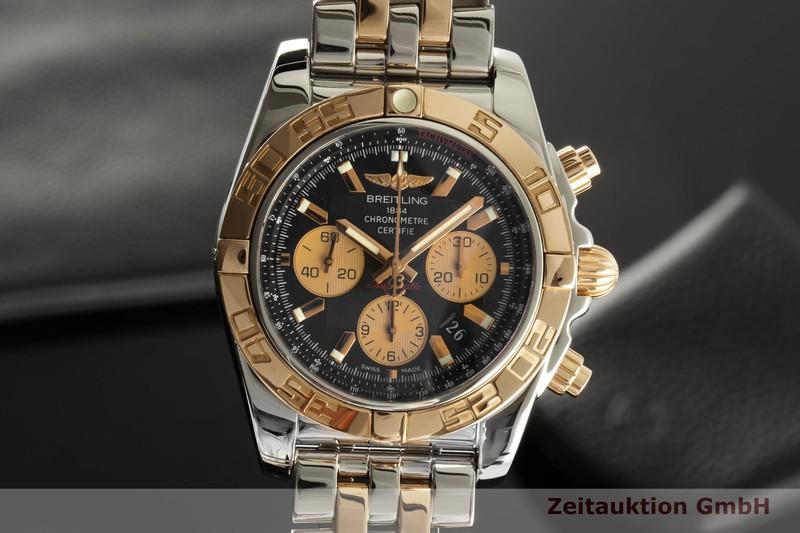 gebrauchte Luxusuhr Breitling Chronomat 44 Chronograph Stahl / Gold Automatik Kal. B01 Ref. CB0110  | 2007274 _0