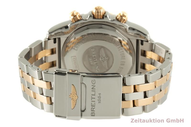 gebrauchte Luxusuhr Breitling Chronomat 44 Chronograph Stahl / Gold Automatik Kal. B01 Ref. CB0110  | 2007274 _1