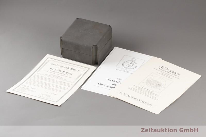 gebrauchte Luxusuhr Zenith El Primero Chronograph Stahl vergoldet Automatik Kal. 400 Ref. 20-0210.400  | 2007283 _0