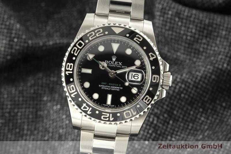 gebrauchte Luxusuhr Rolex GMT Master II Stahl Automatik Kal. 3186 Ref. 116710LN  | 2007304 _0