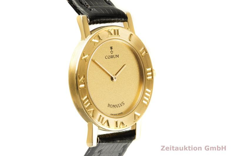 gebrauchte Luxusuhr Corum Romulus 18k Gold Quarz Ref. 50.201.56  | 2007320 _0