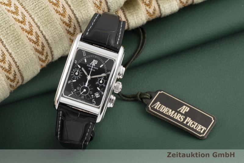 gebrauchte Luxusuhr Audemars Piguet Edward Piguet Chronograph 18k Weissgold Automatik Kal. 2385 Ref. 25925BC.OO.D001CR.01  | 2007326 _0