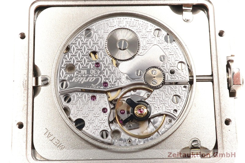 gebrauchte Luxusuhr Cartier Santos Dumont 18k Weissgold Handaufzug Kal. 430 MC Ref. 2651  | 2007336 _1