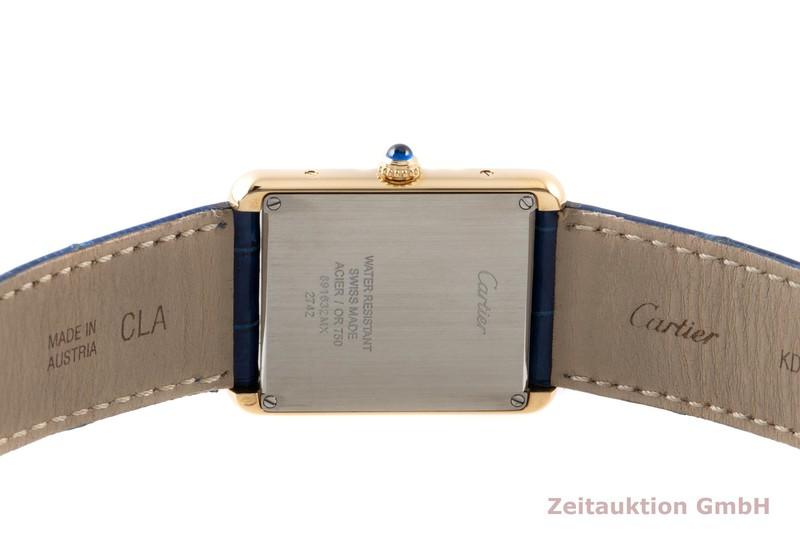 gebrauchte Luxusuhr Cartier Tank 18k Gold Quarz Kal. 690 Ref. 2742    2007337 _0