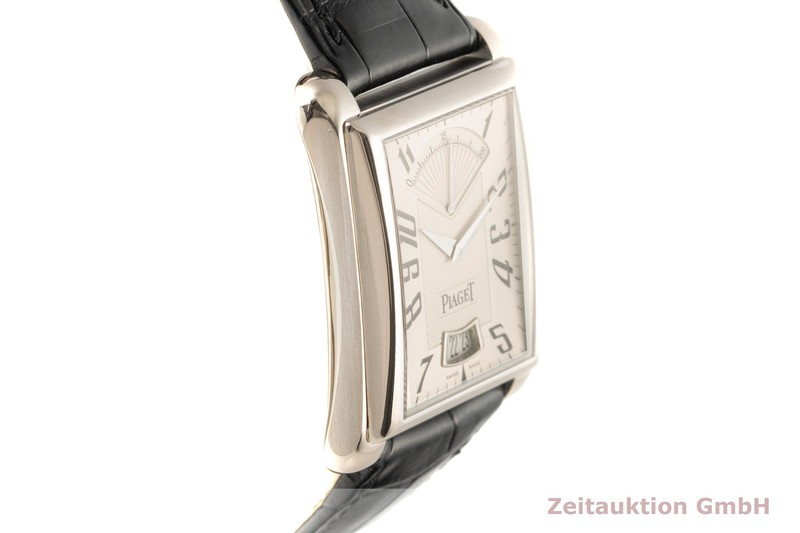 gebrauchte Luxusuhr Piaget Emperador 18k Weissgold Automatik Kal. 560 P Ref. P10108    2007338 _0