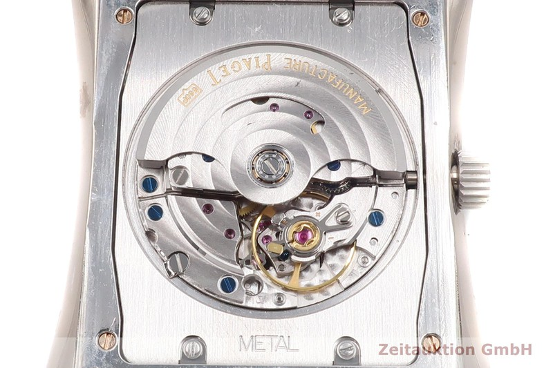 gebrauchte Luxusuhr Piaget Emperador 18k Weissgold Automatik Kal. 560 P Ref. P10108    2007338 _1