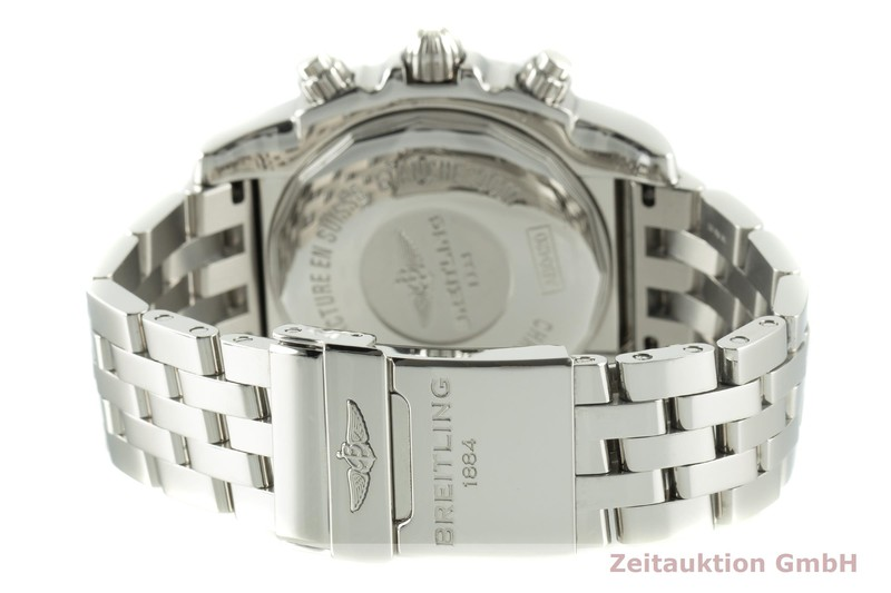 gebrauchte Luxusuhr Breitling Chronomat 44 GMT Chronograph Stahl Automatik Kal. B04 Ref. AB042011  | 2007346 _1