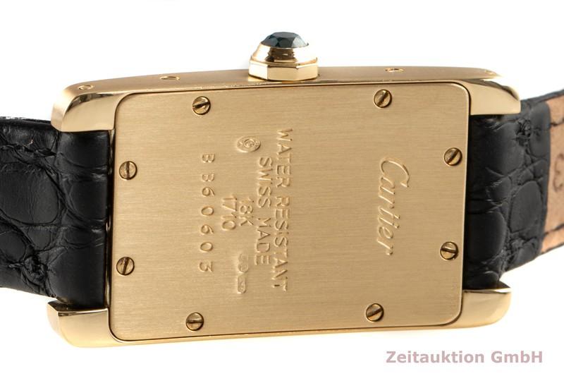 gebrauchte Luxusuhr Cartier Tank Américaine 18k Gold Quarz Kal. 157.06 Ref. 1710/W2601556    2007361 _1