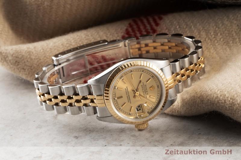 gebrauchte Luxusuhr Rolex Lady Datejust Stahl / Gold Automatik Kal. 2135 Ref. 69173  | 2007387 _0