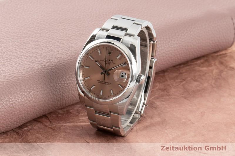 gebrauchte Luxusuhr Rolex Date Stahl Automatik Kal. 3135 Ref. 115200  | 2007388 _0