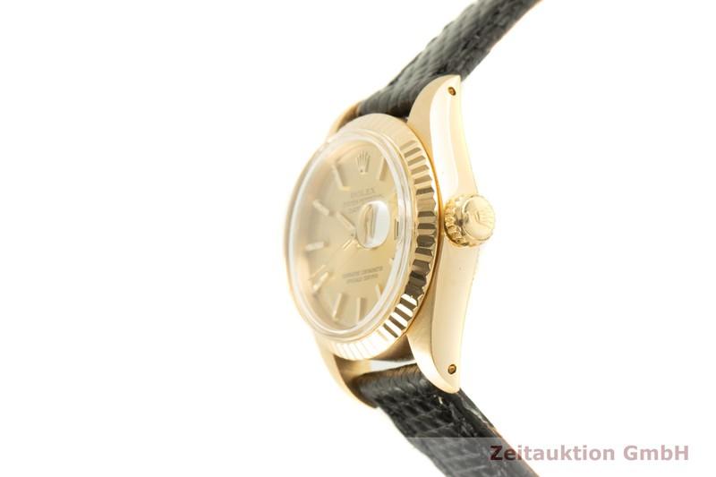 gebrauchte Luxusuhr Rolex Lady Datejust 18k Gold Automatik Kal. 2030 Ref. 6917  | 2007403 _0