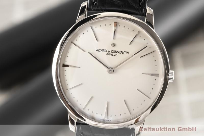 gebrauchte Luxusuhr Vacheron & Constantin Patrimony 18k Weissgold Handaufzug Kal. 1400 Ref. 81180    2007406 _0