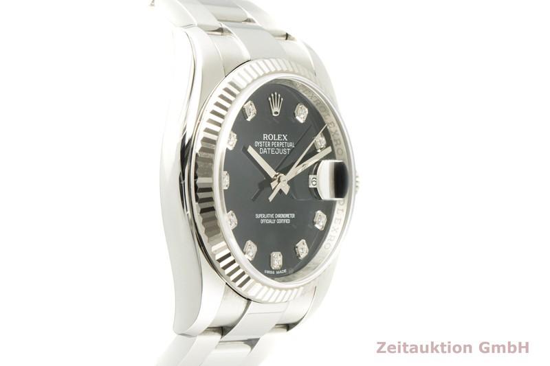 gebrauchte Luxusuhr Rolex Datejust Stahl / Weissgold Automatik Kal. 3135 Ref. 116234  | 2007411 _0