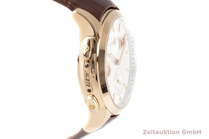 gebrauchte Luxusuhr Ulysse Nardin Dual Time 18k Rotgold Automatik Kal. UN 334 Ref. 3346-126/91    2007434 _0