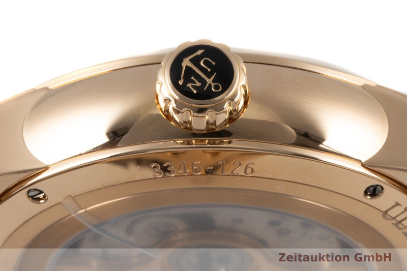 gebrauchte Luxusuhr Ulysse Nardin Dual Time 18k Rotgold Automatik Kal. UN 334 Ref. 3346-126/91    2007434 _1