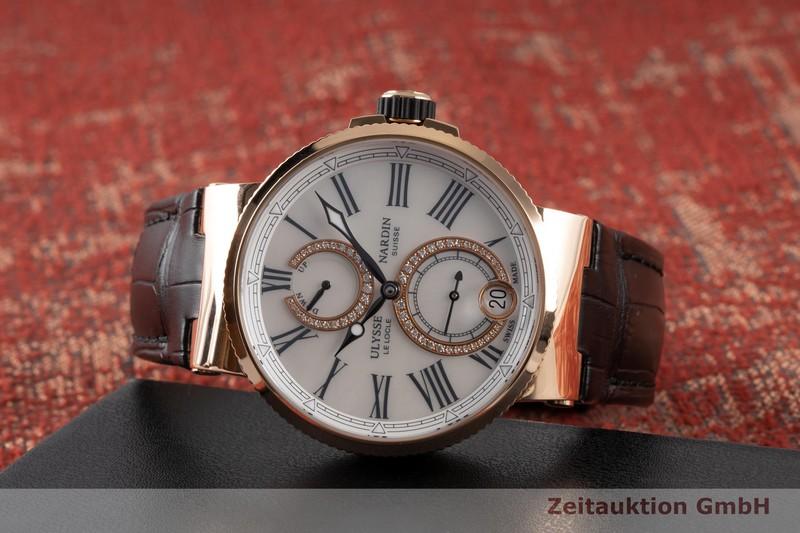 gebrauchte Luxusuhr Ulysse Nardin Marine Chronometer 18k Rotgold Automatik Kal. UN 118 Ref. 1182-160/490    2007435 _0