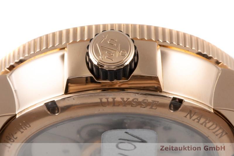 gebrauchte Luxusuhr Ulysse Nardin Marine Chronometer 18k Rotgold Automatik Kal. UN 118 Ref. 1182-160/490    2007435 _1