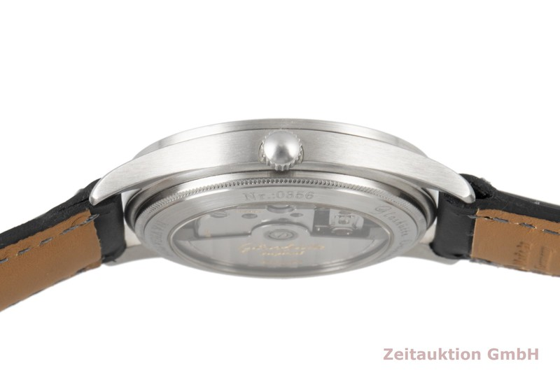 gebrauchte Luxusuhr Glashütte Navigator Stahl Automatik Kal. GUB 10-30  | 2007437 _1