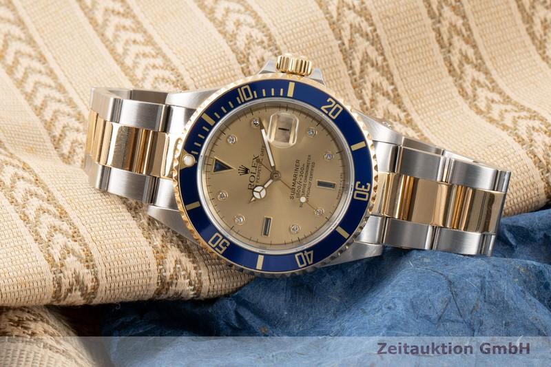 gebrauchte Luxusuhr Rolex Submariner Stahl / Gold Automatik Kal. 3135 Ref. 16613  | 2007440 _0