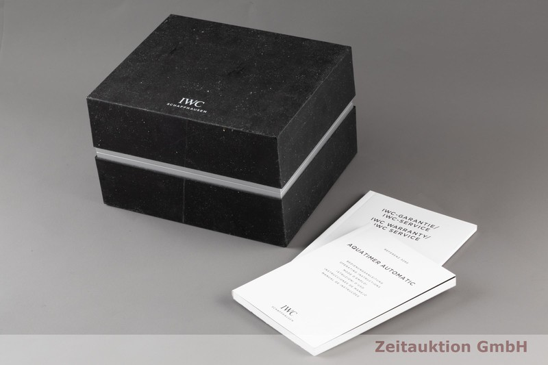 gebrauchte Luxusuhr IWC Aquatimer Stahl Automatik Kal. 30120 Ref. IW329002  | 2007445 _0