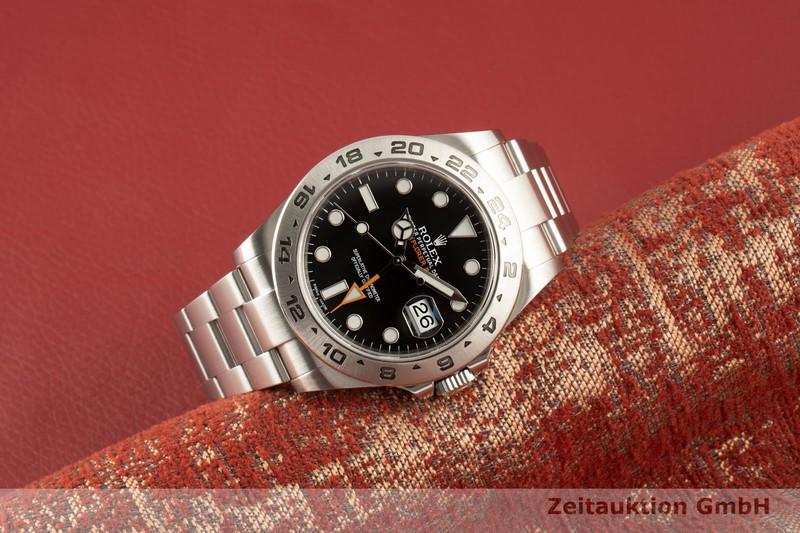 gebrauchte Luxusuhr Rolex Explorer II Stahl Automatik Kal. 3187 Ref. 216570  | 2007447 _0