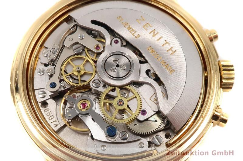 gebrauchte Luxusuhr Zenith El Primero Chronograph vergoldet Automatik Kal. 400 Ref. 20.0020.400  | 2007450 _1