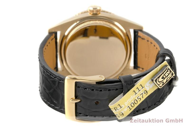 gebrauchte Luxusuhr Rolex Datejust 18k Gold Automatik Kal. 1050 Ref. 6609 VINTAGE  | 2007451 _1