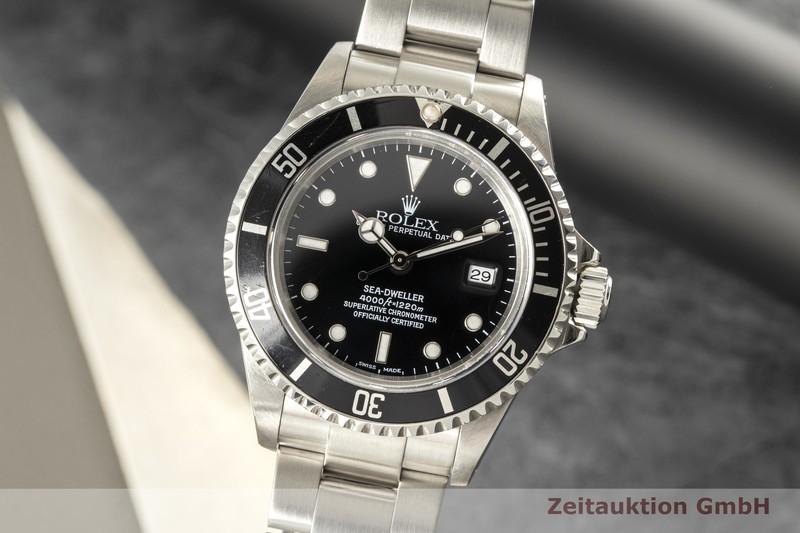 gebrauchte Luxusuhr Rolex Sea Dweller Stahl Automatik Kal. 3135 Ref. 16600  | 2007453 _0