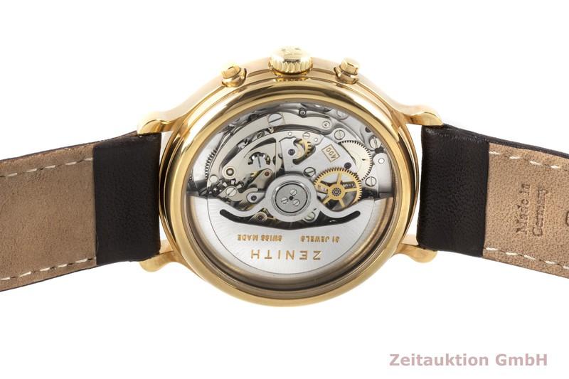 gebrauchte Luxusuhr Zenith El Primero Chronograph vergoldet Automatik Kal. 400 Ref. 20.0020.400    2007466 _1