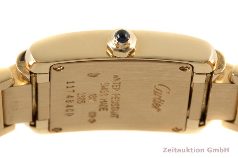 gebrauchte Luxusuhr Cartier Tank Francaise 18k Gold Quarz Kal. 057 Ref. 2385  | 2007468 _1