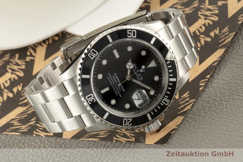 gebrauchte Luxusuhr Rolex Submariner Stahl Automatik Kal. 3135 Ref. 16610T  | 2007475 _0