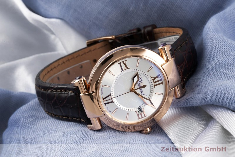 gebrauchte Luxusuhr Chopard Imperiale 18k Rotgold Quarz Ref. 384221-5001  | 2007478 _0