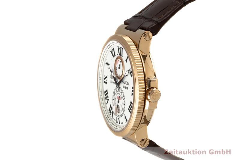 gebrauchte Luxusuhr Ulysse Nardin Marine Chronometer 18k Rotgold Automatik Kal. UN026 Ref. 266-67/40    2007487 _0