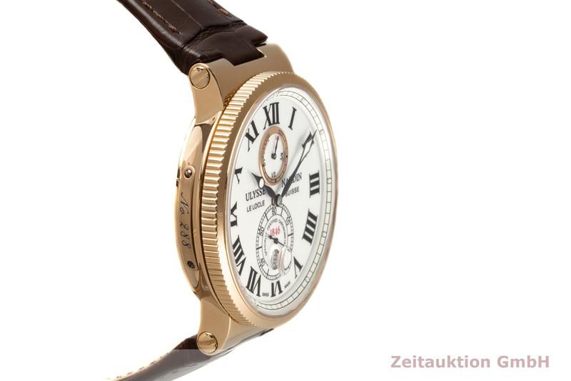 gebrauchte Luxusuhr Ulysse Nardin Marine Chronometer 18k Rotgold Automatik Kal. UN026 Ref. 266-67/40  | 2007487 _0
