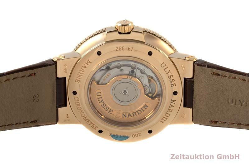 gebrauchte Luxusuhr Ulysse Nardin Marine Chronometer 18k Rotgold Automatik Kal. UN026 Ref. 266-67/40  | 2007487 _1