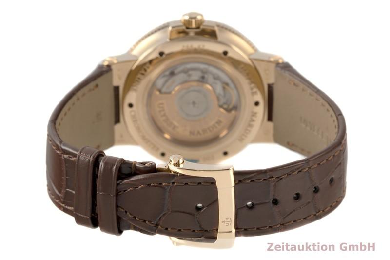 gebrauchte Luxusuhr Ulysse Nardin Marine Chronometer 18k Rotgold Automatik Kal. UN026 Ref. 266-67/40    2007487 _1