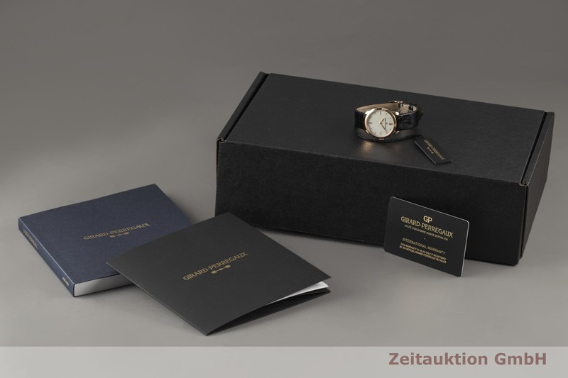 gebrauchte Luxusuhr Girard Perregaux 1966 18k Rotgold Automatik Kal. GP 3200 Ref. 49528-52-771-CK6A  | 2007489 _0
