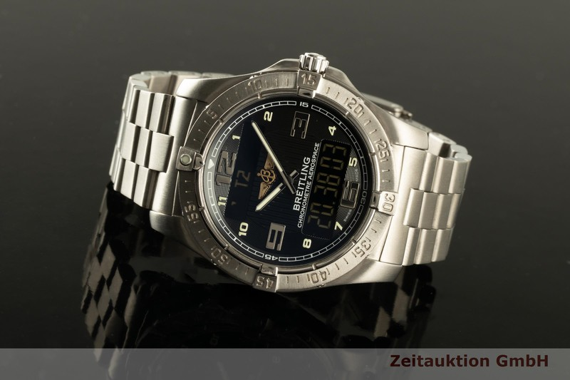 gebrauchte Luxusuhr Breitling Aerospace Chronograph Titan Quarz Kal. B79 Ref. E79362  | 2007511 _0