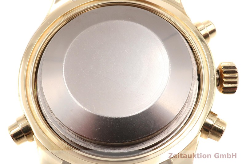gebrauchte Luxusuhr IWC Doppelchronograph Chronograph 18k Gold Automatik Kal. 79030 Ref. 3711  | 2007531 _1