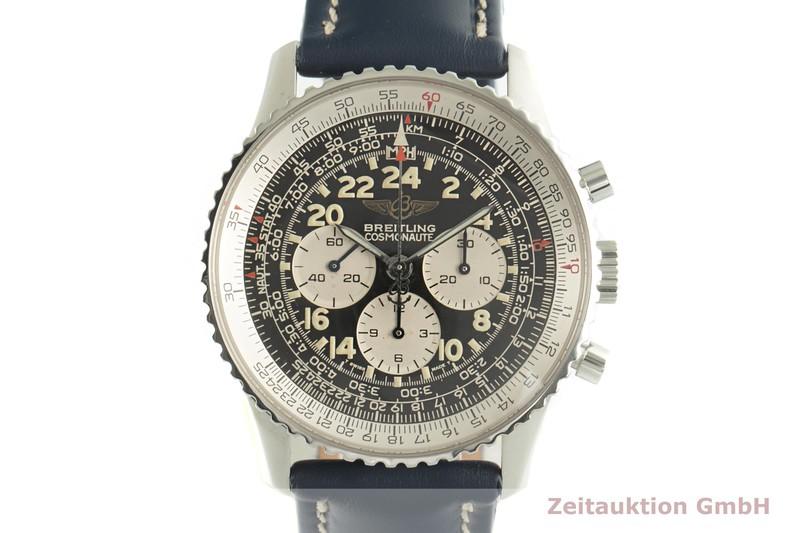 gebrauchte Luxusuhr Breitling Navitimer Cosmonaute Chronograph Stahl Handaufzug Kal. LWO 1873/24 Ref. A12023  | 2007538 _0