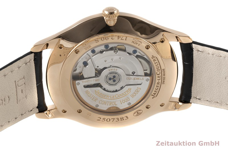 gebrauchte Luxusuhr Jaeger LeCoultre Master Ultra Thin 18k Rotgold Automatik Kal. 896 Ref. 174.2.90.S  | 2007559 _1