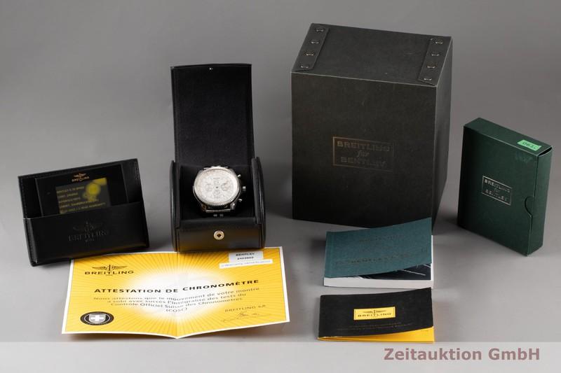gebrauchte Luxusuhr Breitling Bentley 6.75 Chronograph Stahl Automatik Kal. B44 Ref. A44364    2007567 _0