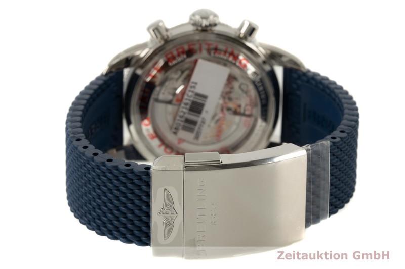gebrauchte Luxusuhr Breitling Superocean Chronograph Chronograph Stahl Automatik Kal. B01 Ref. AB0162  | 2007583 _1