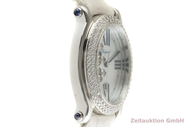 gebrauchte Luxusuhr Chopard Happy Sport 18k Weissgold Quarz Ref. 27/7012-23  | 2007590 _0